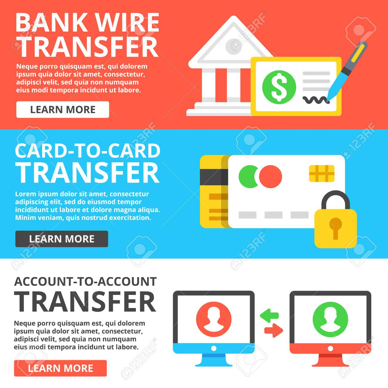 Wire Transfer Can Stock - WIRE Center •