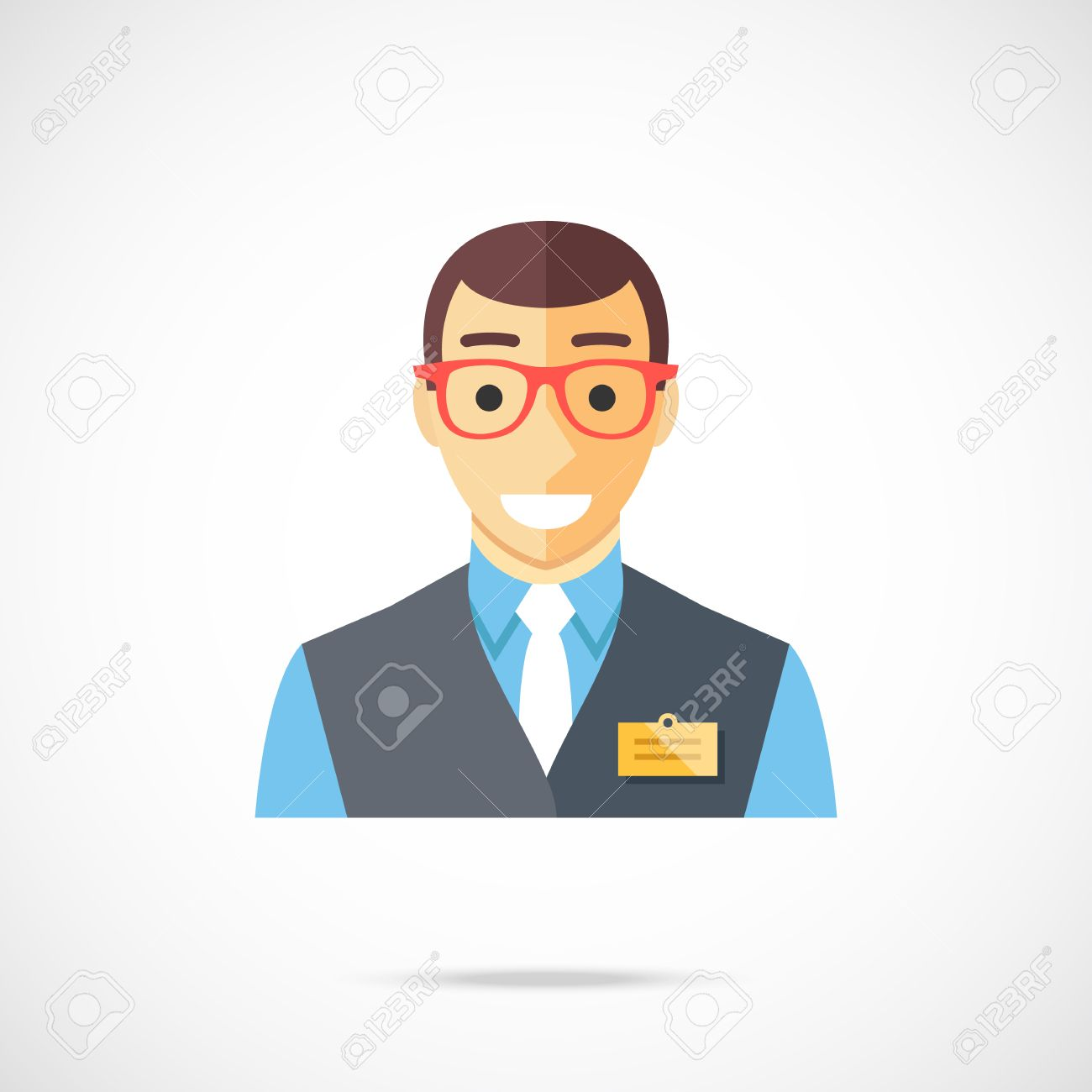 s assistant icon clerk cashier store worker bank employee s assistant icon clerk cashier store worker bank employee manager