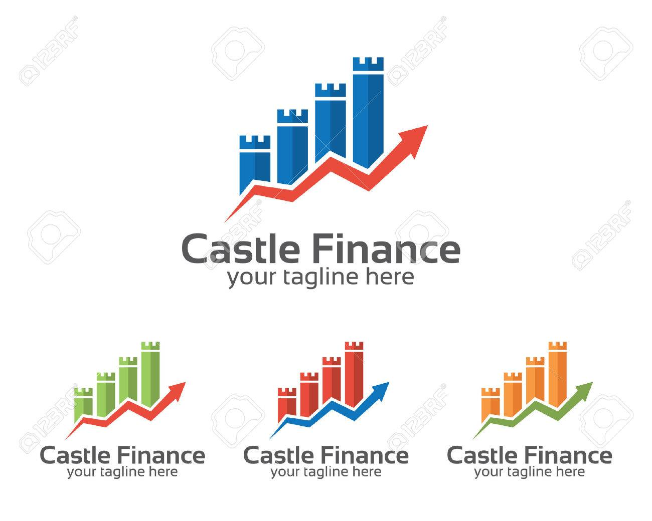Business corporate castle finance logo design template simple business corporate castle finance logo design template simple and clean flat design of financial illustration cheaphphosting Image collections