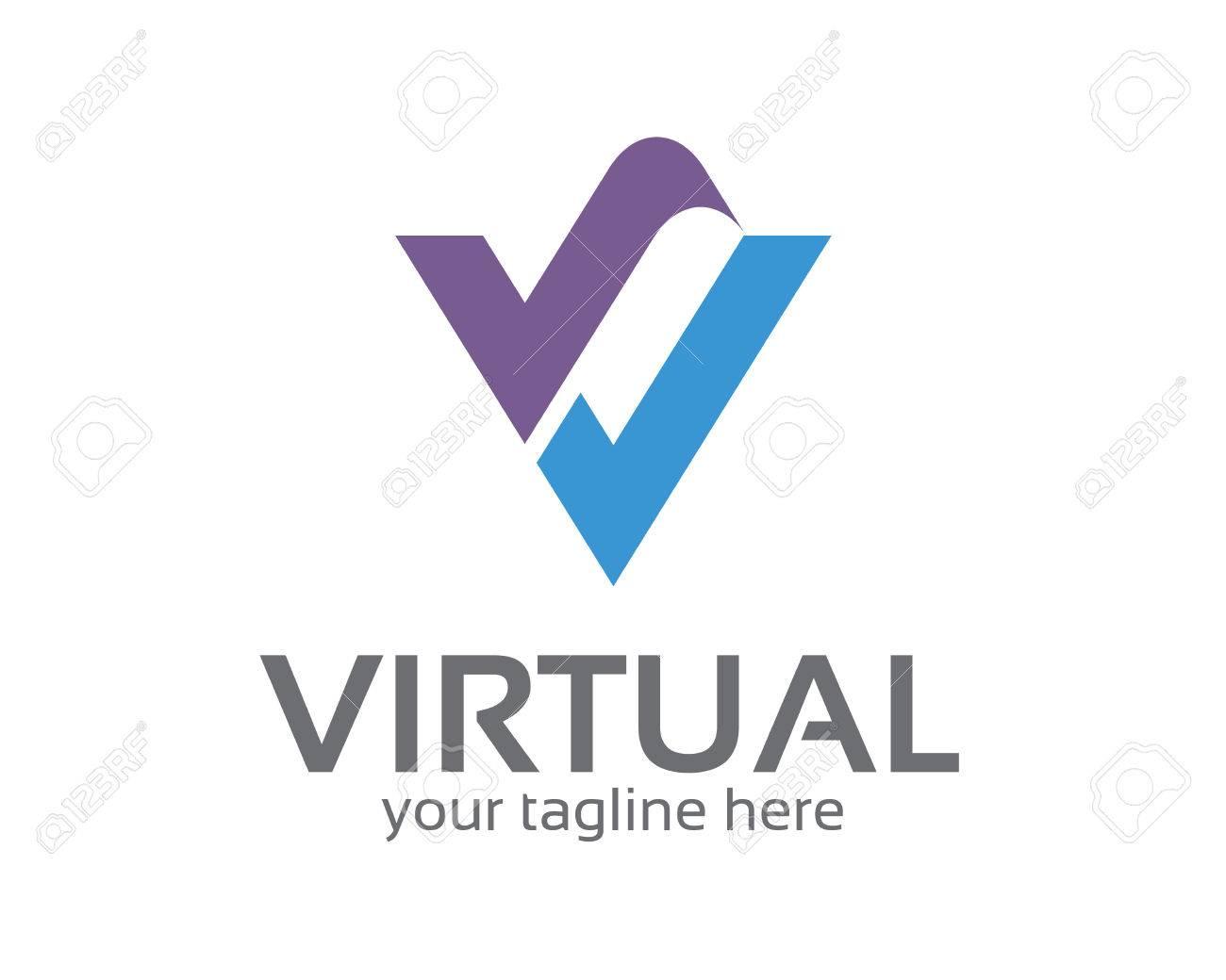 Vector graphic design business logo - Business Corporate Letter V Logo Design Template Simple And Clean Flat Design Of Letter V