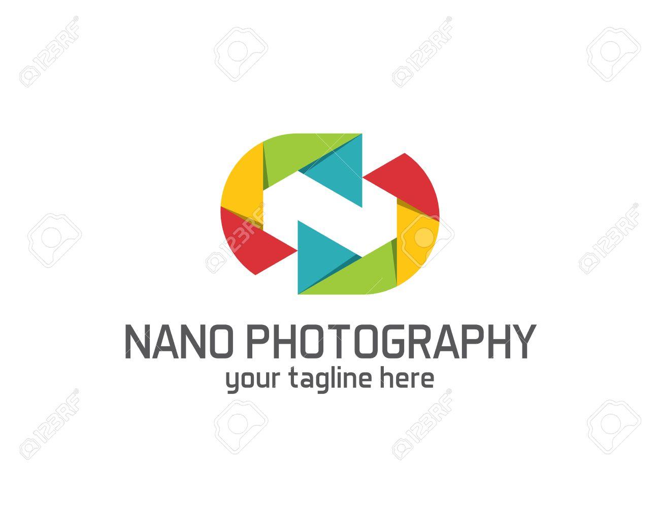 Photography Logo Design Vector Template. Camera Lens Symbol Vector ...