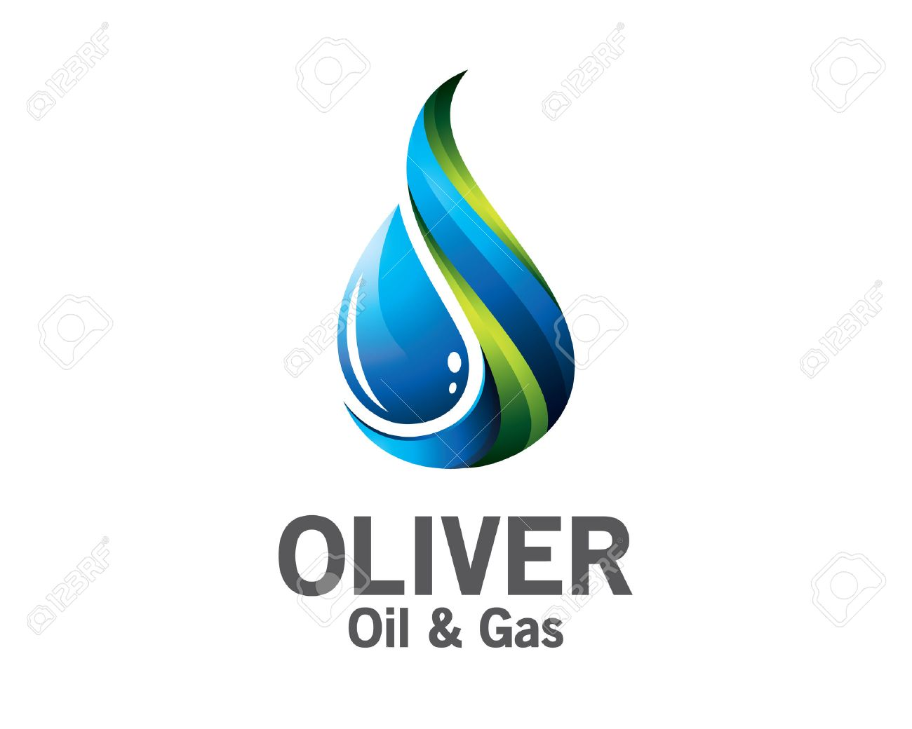 3D Oil And Gas Logo Design. Colorful 3D Oil And Gas Logo Vector.. Royalty  Free Cliparts, Vectors, And Stock Illustration. Image 53142278.