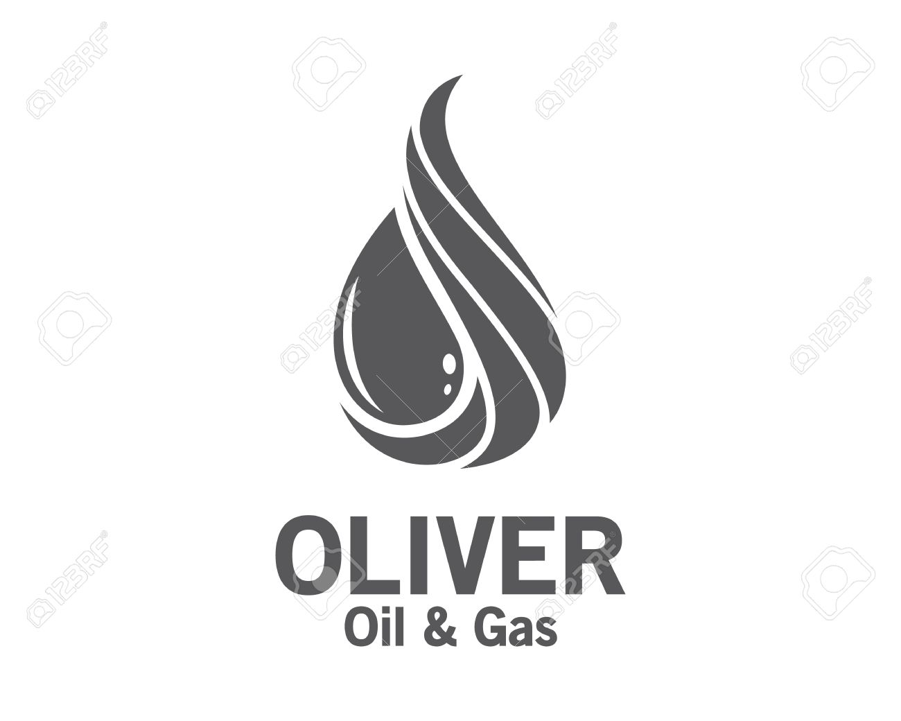 3D oil and gas logo design. Colorful 3D oil and gas logo vector template. oil and gas concept with 3D style design vector. - 53142395