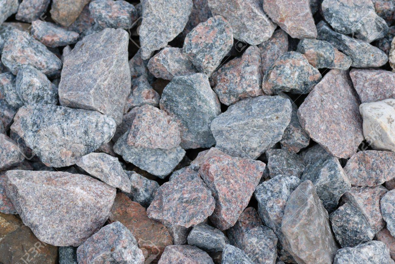 Grey pebble background and texture Stock Photo - 3507137
