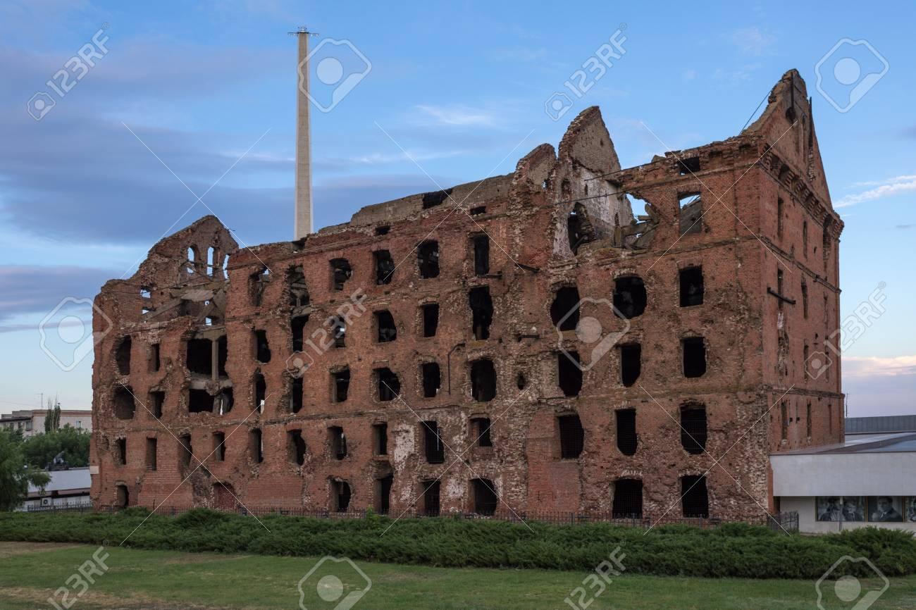 Ruined mill of Gergardt in Volgograd 40
