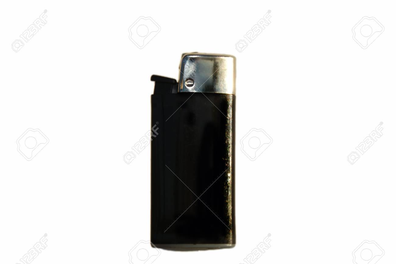 Simple black  pocket lighter Stock Photo - 13900579