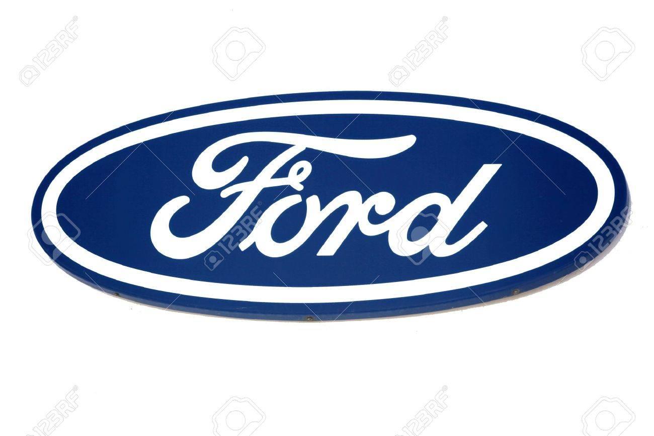 Extrêmement Logo Ford. Marque De La Voiture Américaine. Banque D'Images Et  RN35