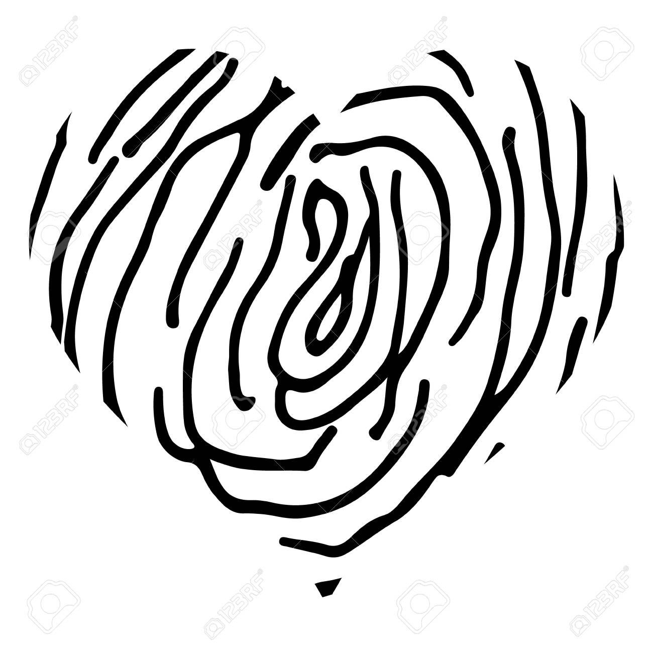 Diseño De Forma De Corazón Para Símbolos De Amor Corazón Blanco Y