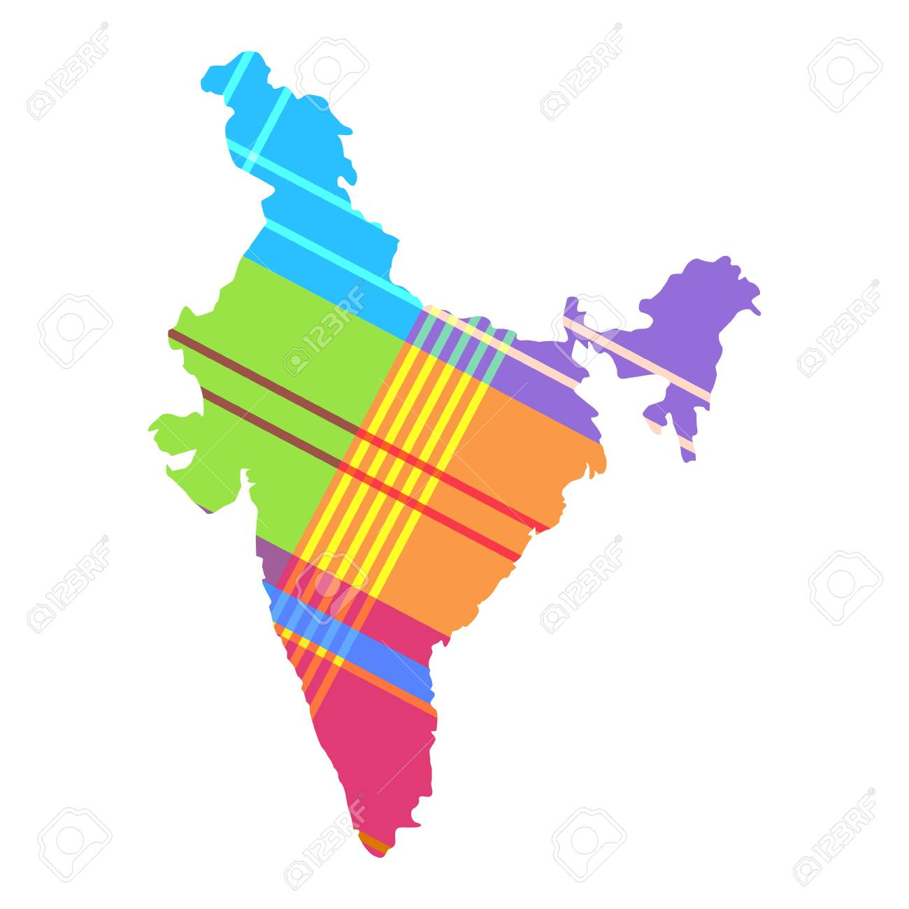 map of India the pattern of the Madras cell. Bright colors of.. Madras On India Map on oslo norway on map, bora bora tahiti on map, medellin colombia on map, xiamen china on map, dublin ireland on map, bremen germany on map, madrid spain on map, port elizabeth south africa on map, copenhagen denmark on map, kuala lumpur malaysia on map, guangzhou china on map, bucharest romania on map, stockholm sweden on map, buenos aires argentina on map, phuket thailand on map, nice france on map, jakarta indonesia on map, shannon ireland on map, munich germany on map, cape town south africa on map,