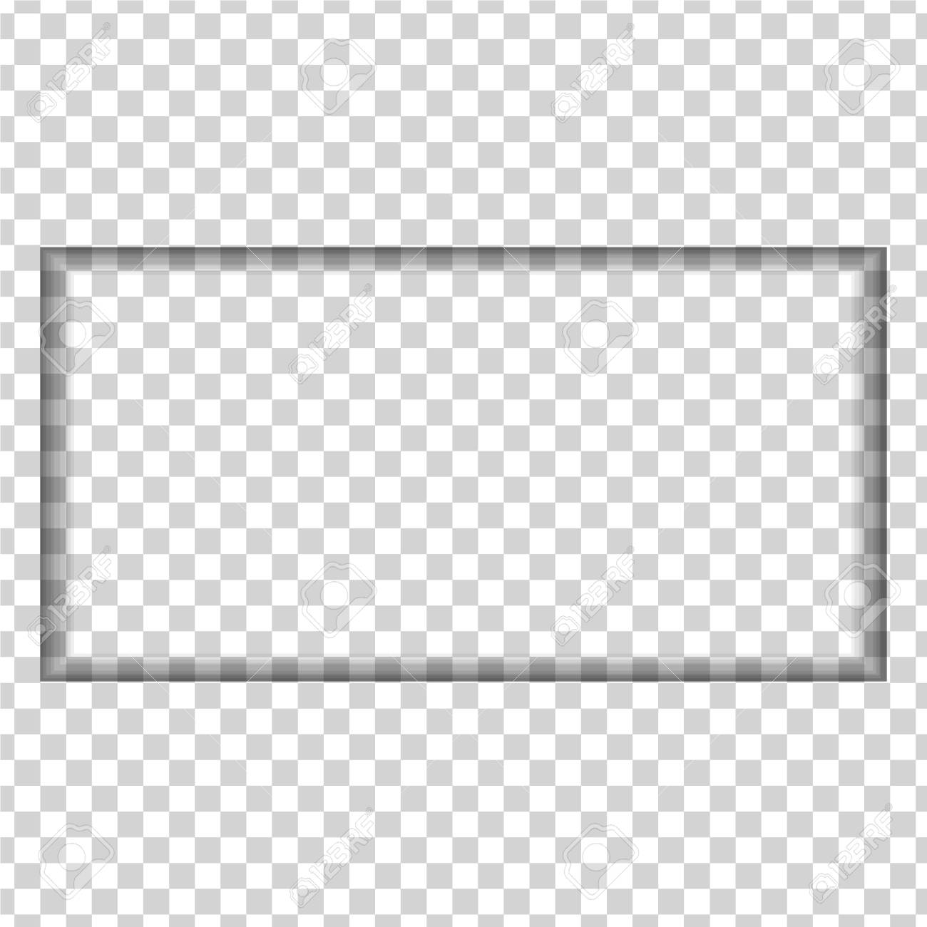 Hole Carved In The Shape Of A Rectangle On A Transparent Background Royalty Free Cliparts Vectors And Stock Illustration Image 114956644