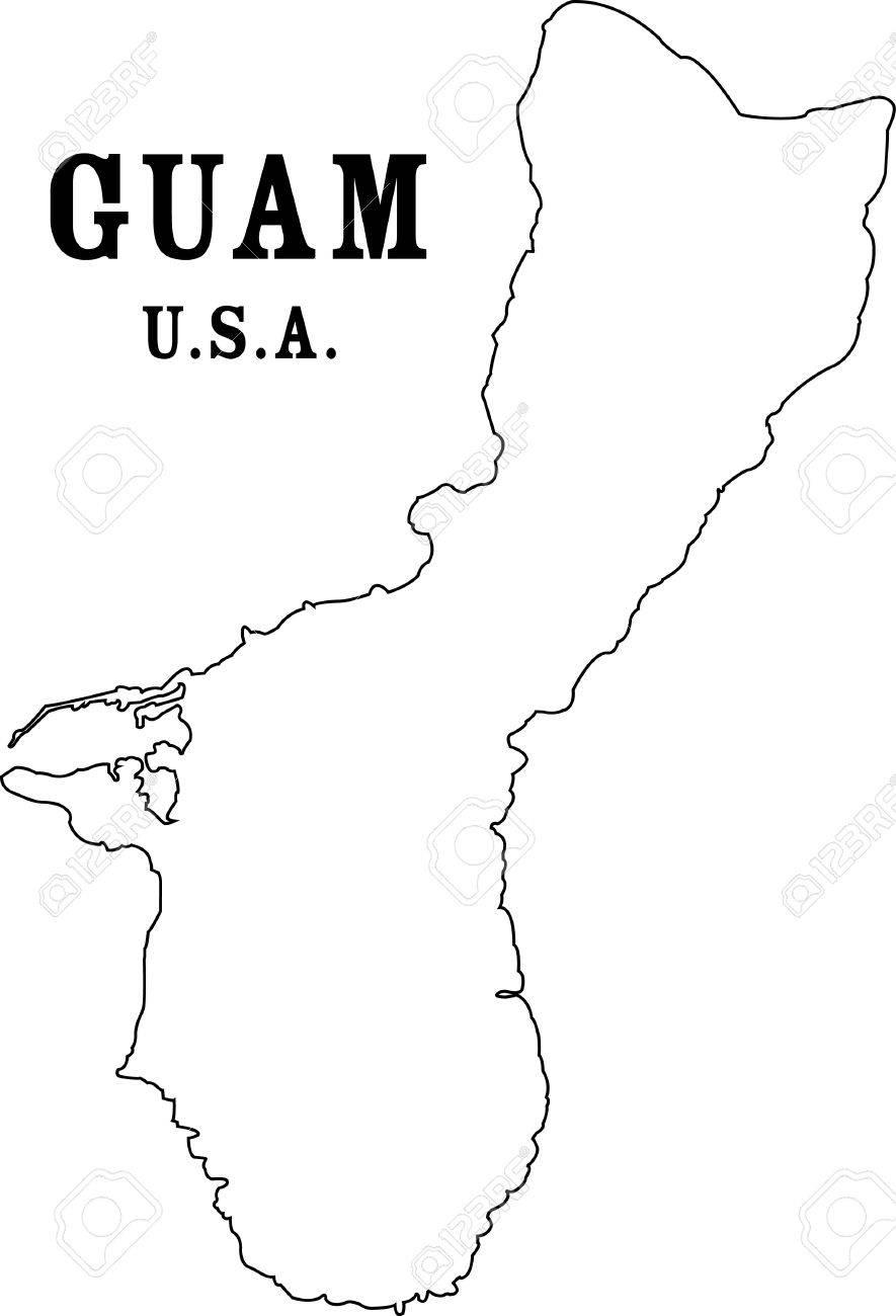 グアム地図