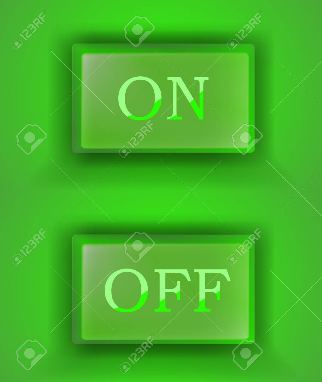 eps10 on off switch Stock Vector - 11761211