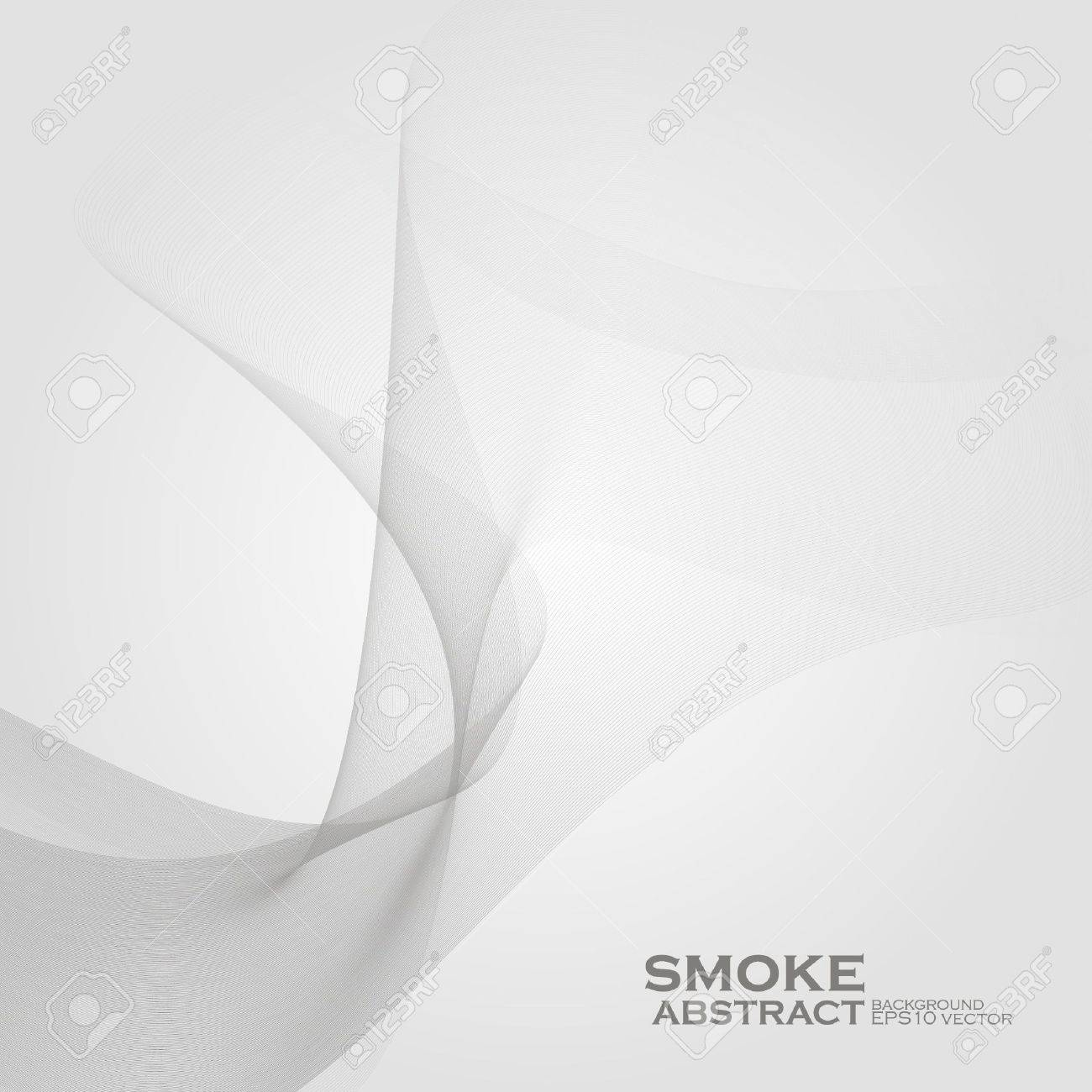 Smoke background. Abstract  vector illustration Stock Vector - 13195524