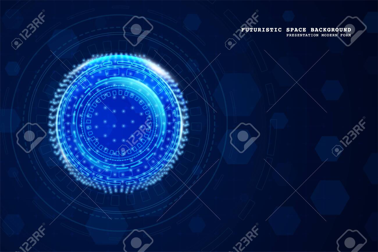Abstract technology background. Digital innovation concept for your design. - 148361369