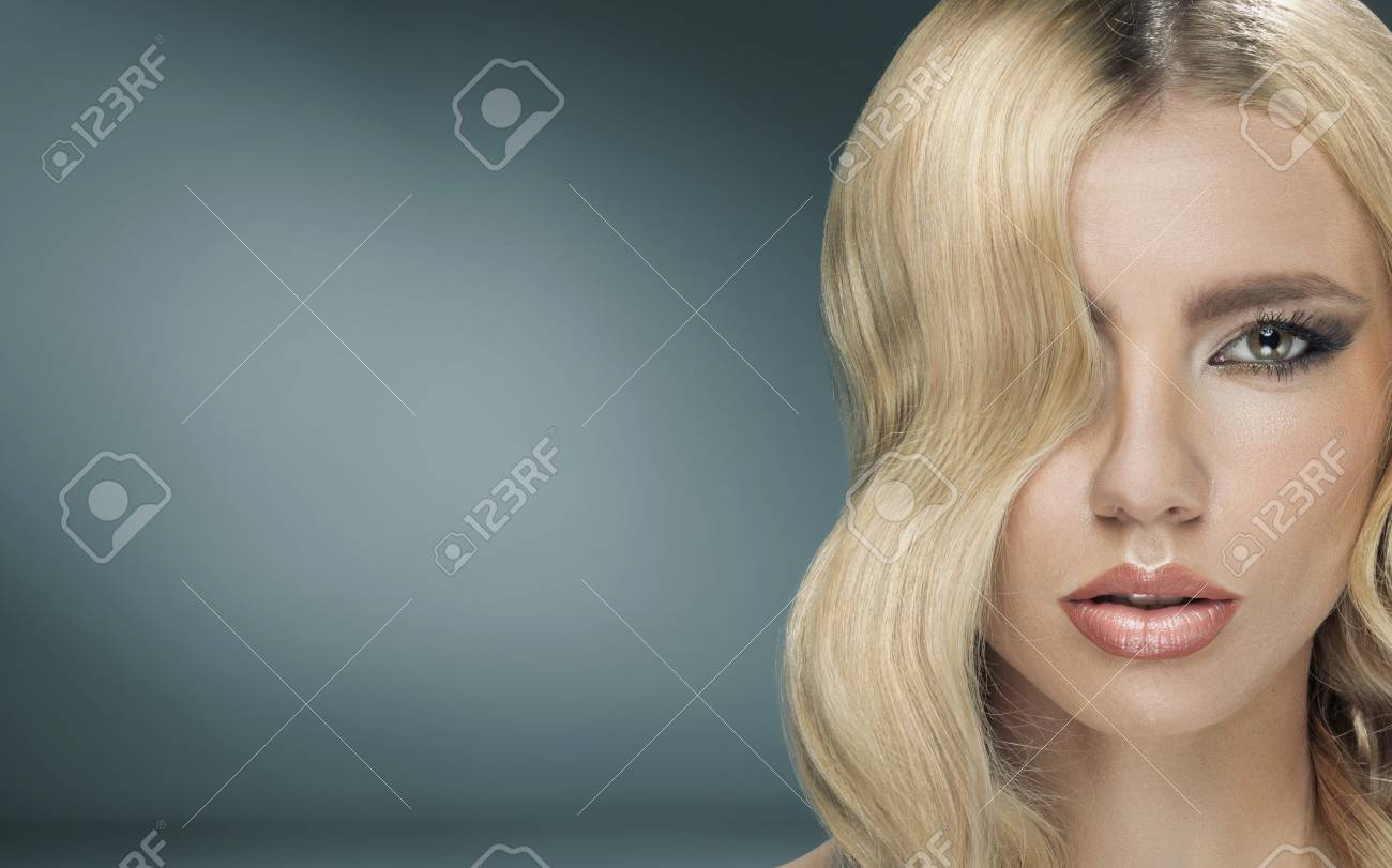 Beautiful young lady with fancy haircut Stock Photo - 30526033