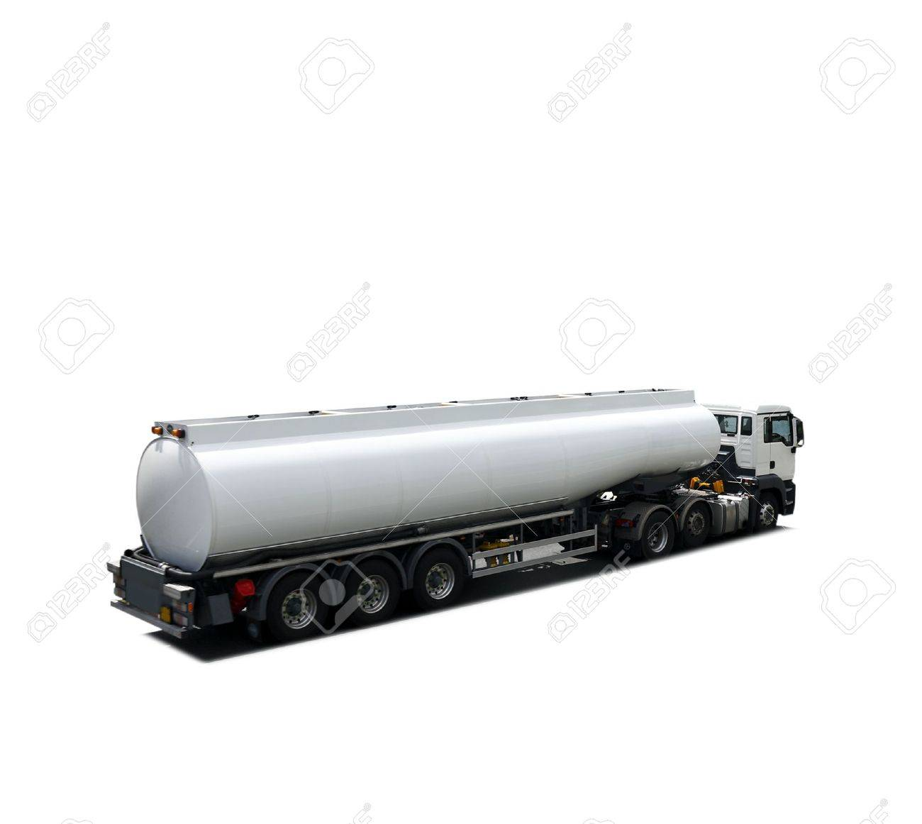 Fuel tanker truck isolated Stock Photo - 8162335