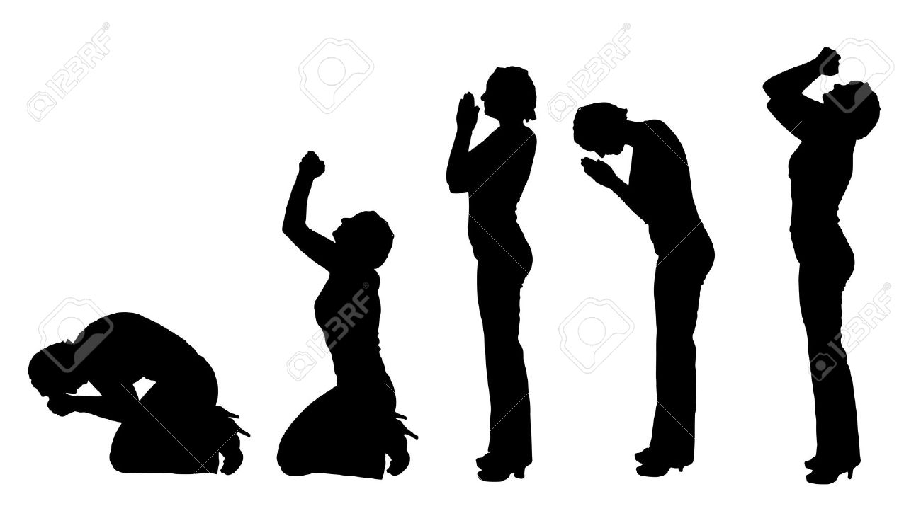 Free Woman Praising God Silhouette, Download Free Clip Art, Free Clip Art  on Clipart Library
