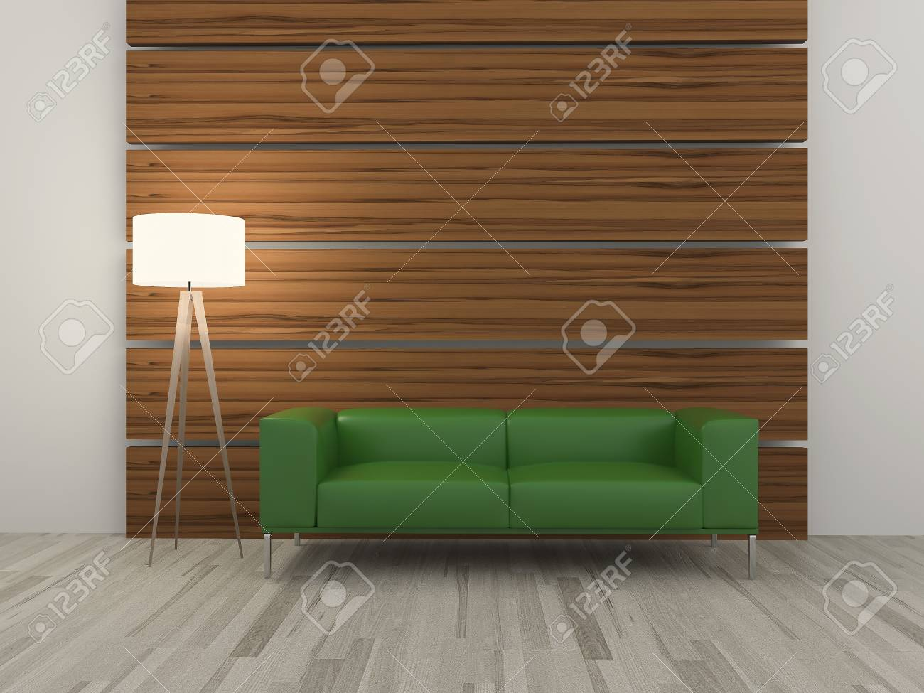 Image of a modern sofa 3D Stock Photo - 23022443