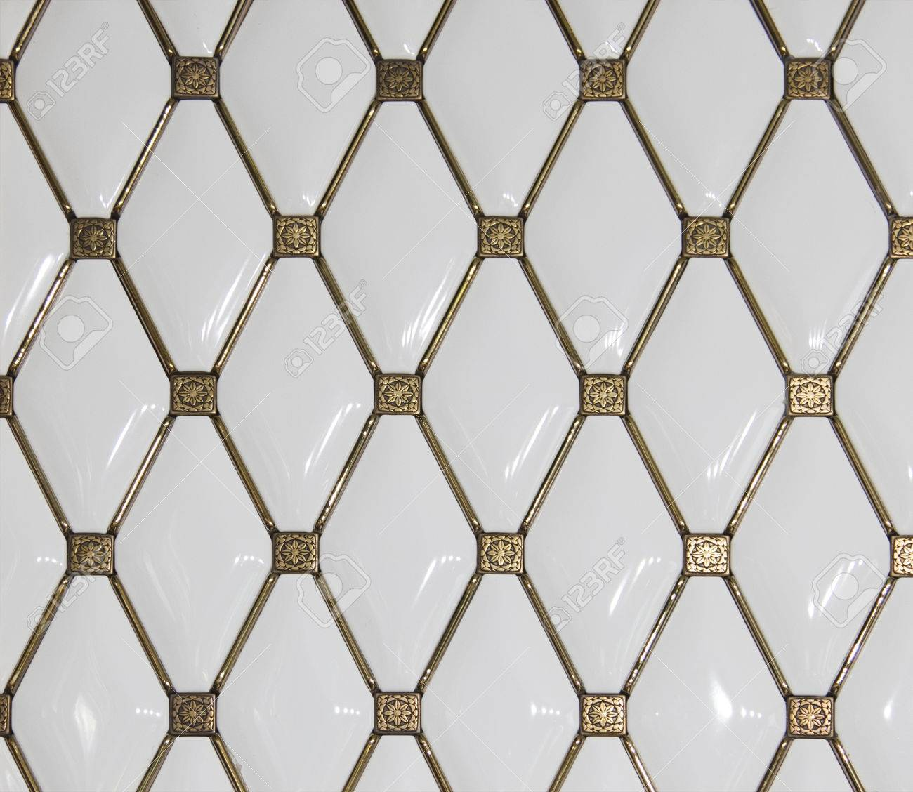 The actual texture of ceramic tiles