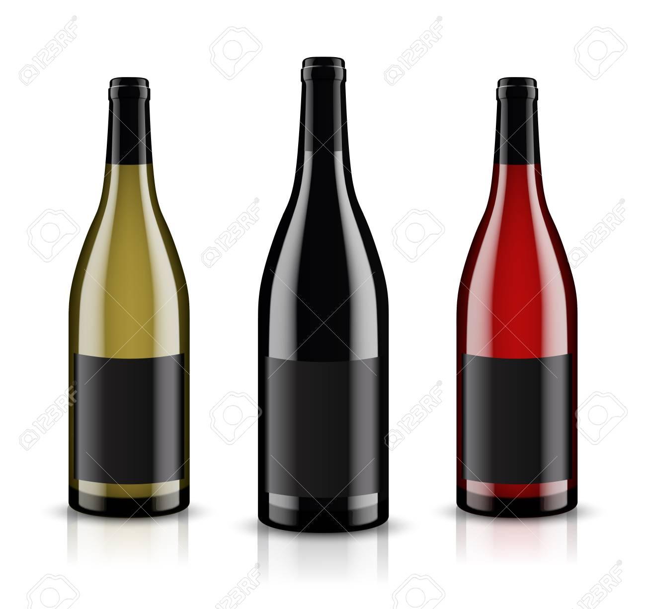 mockup wine bottle vector design royalty free cliparts vectors rh 123rf com wine bottle vector silhouette wine bottle vector image