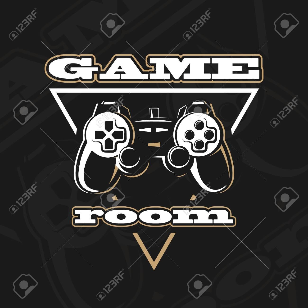 Vector gamepad logo. - 126670948