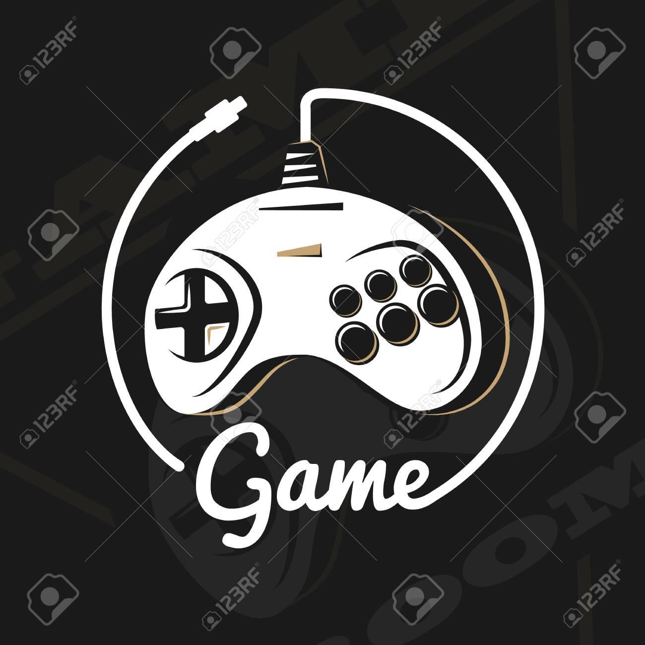 Vector gamepad logo. - 126670949