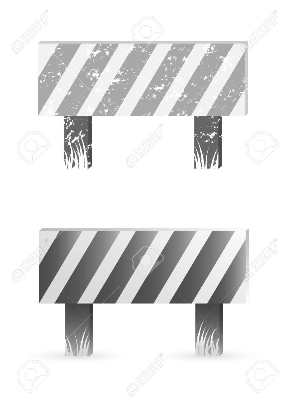 Construction barrier Stock Vector - 9765946