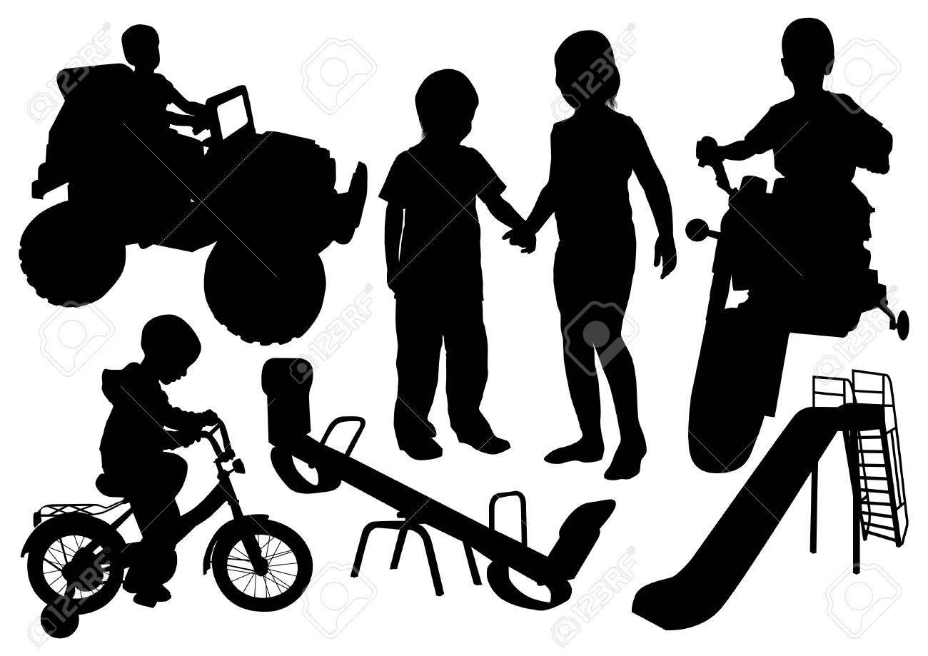 children play Stock Vector - 10634751