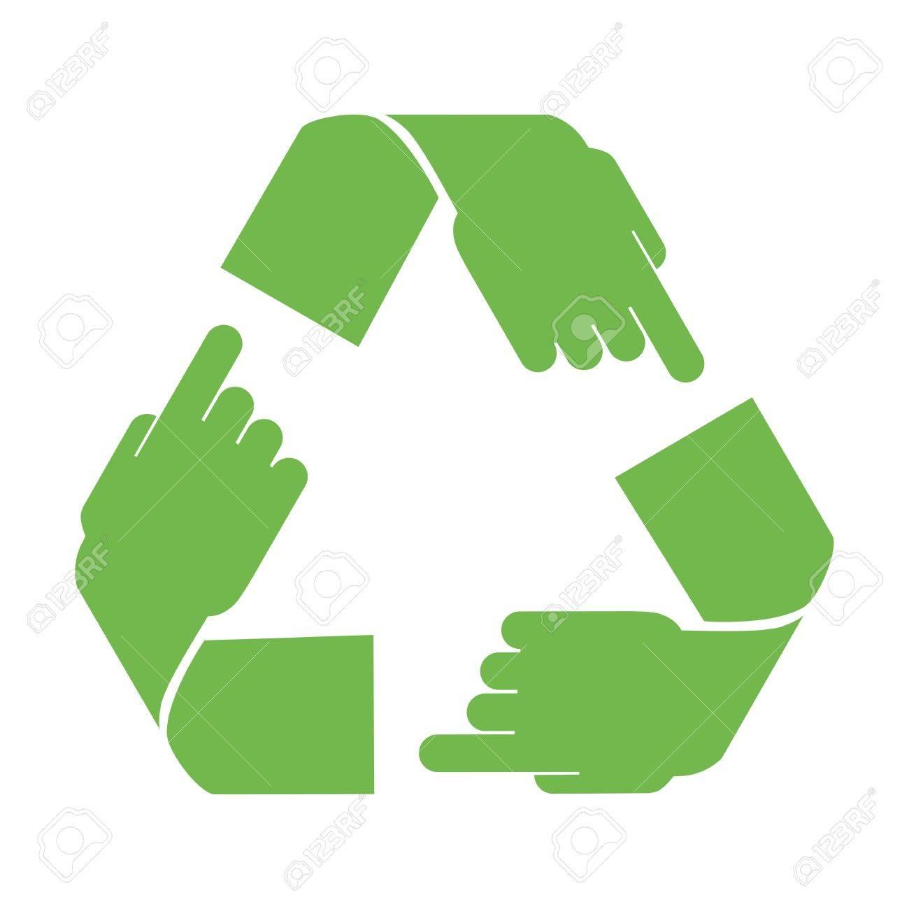 vector recycle symbol Stock Vector - 12852309