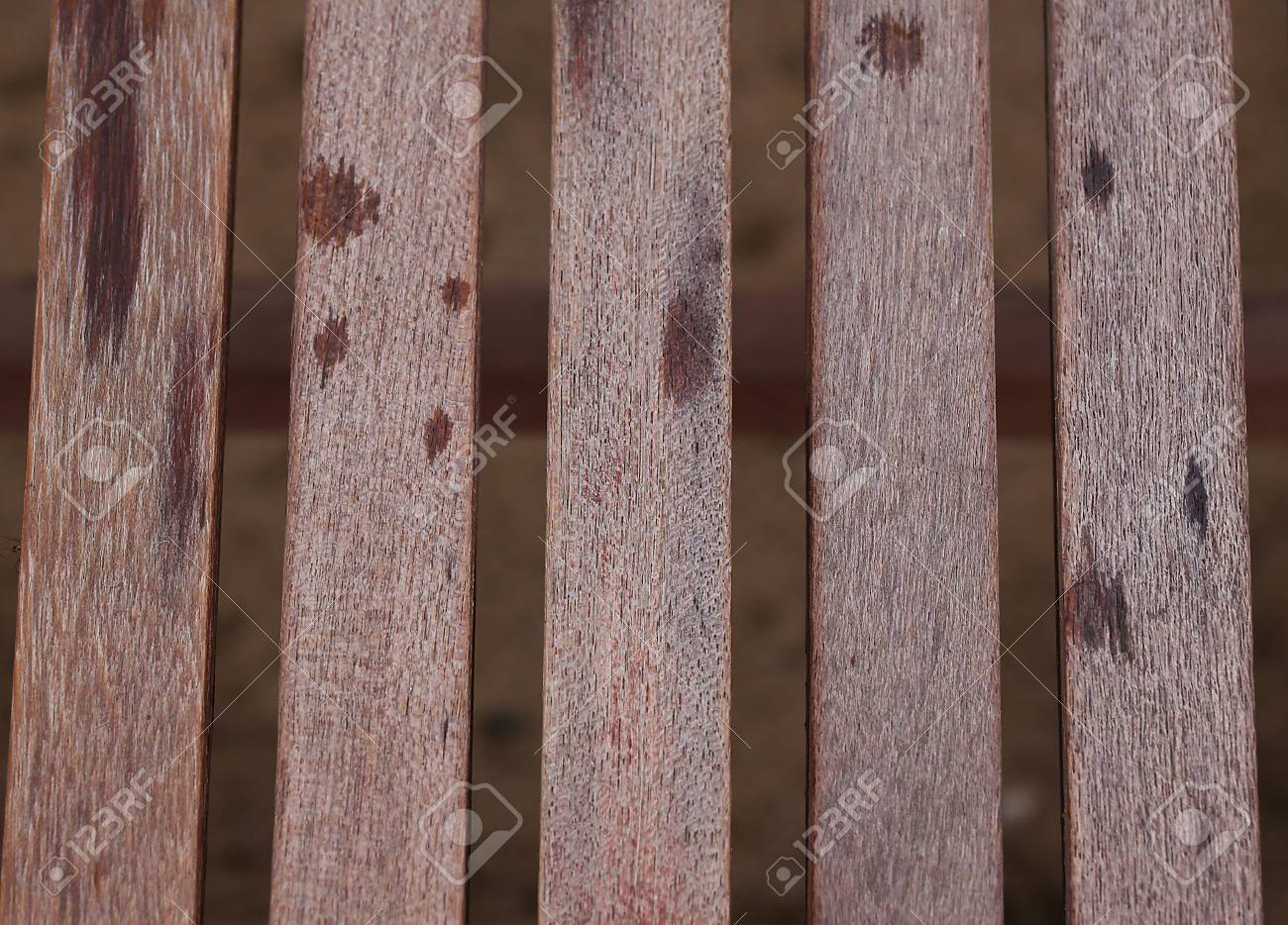 Old wooden slats with peeling paint.Background texture. - 80321248