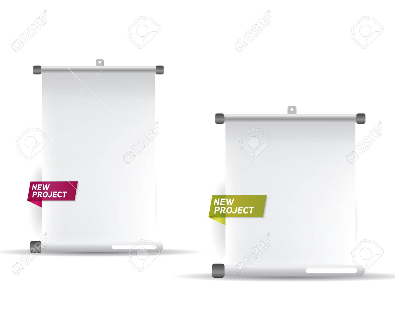 Projector screen Stock Vector - 15135505