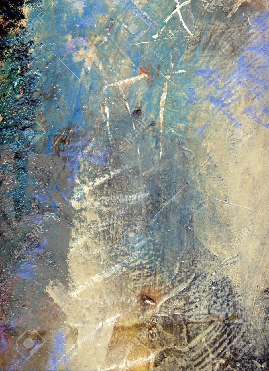 Abstrait Multicolore Couche ?uvre, Textures