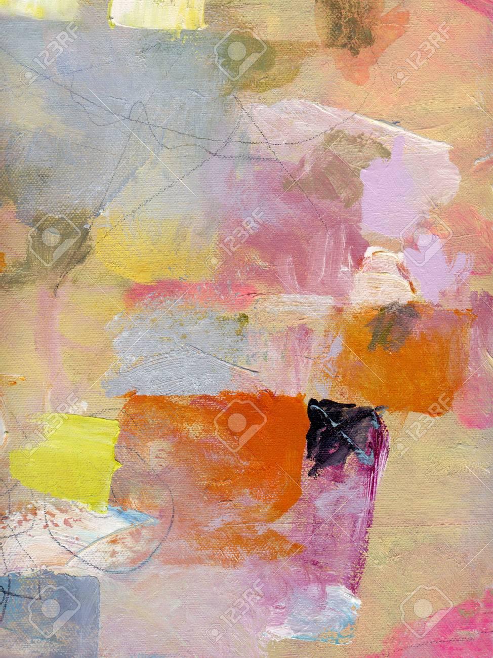 Abstrait Multicolore Couche ?uvre, Opaques
