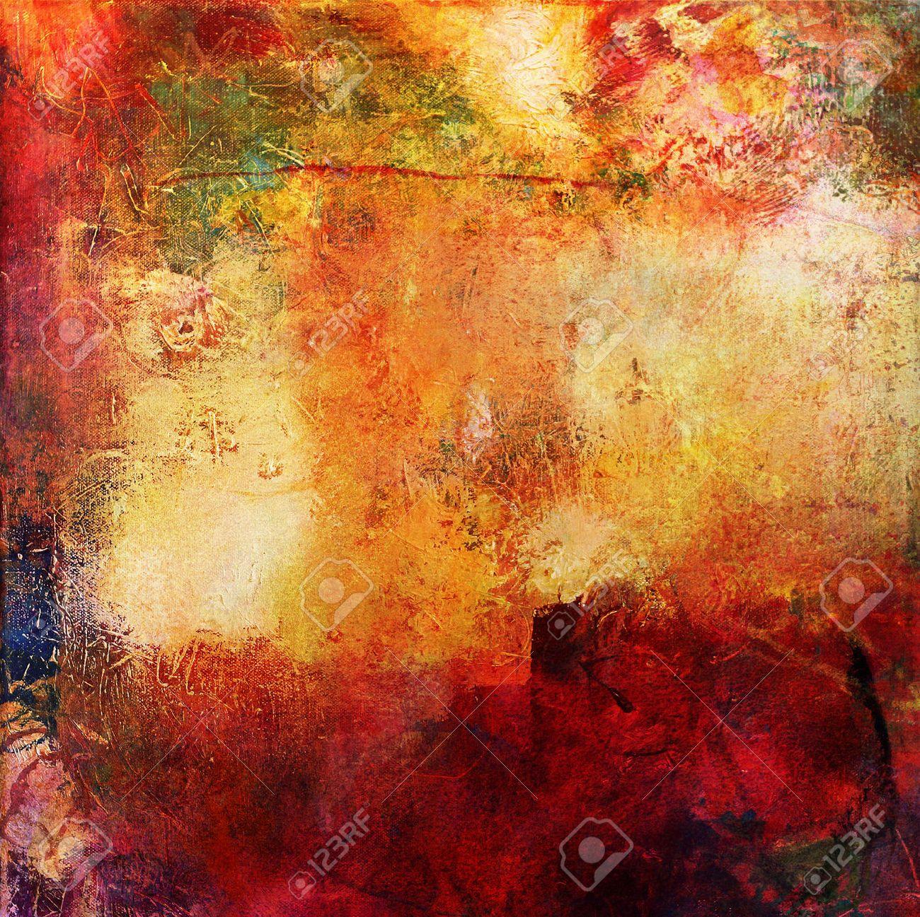 Abstraite Multicolore Couche ?uvre, Textures