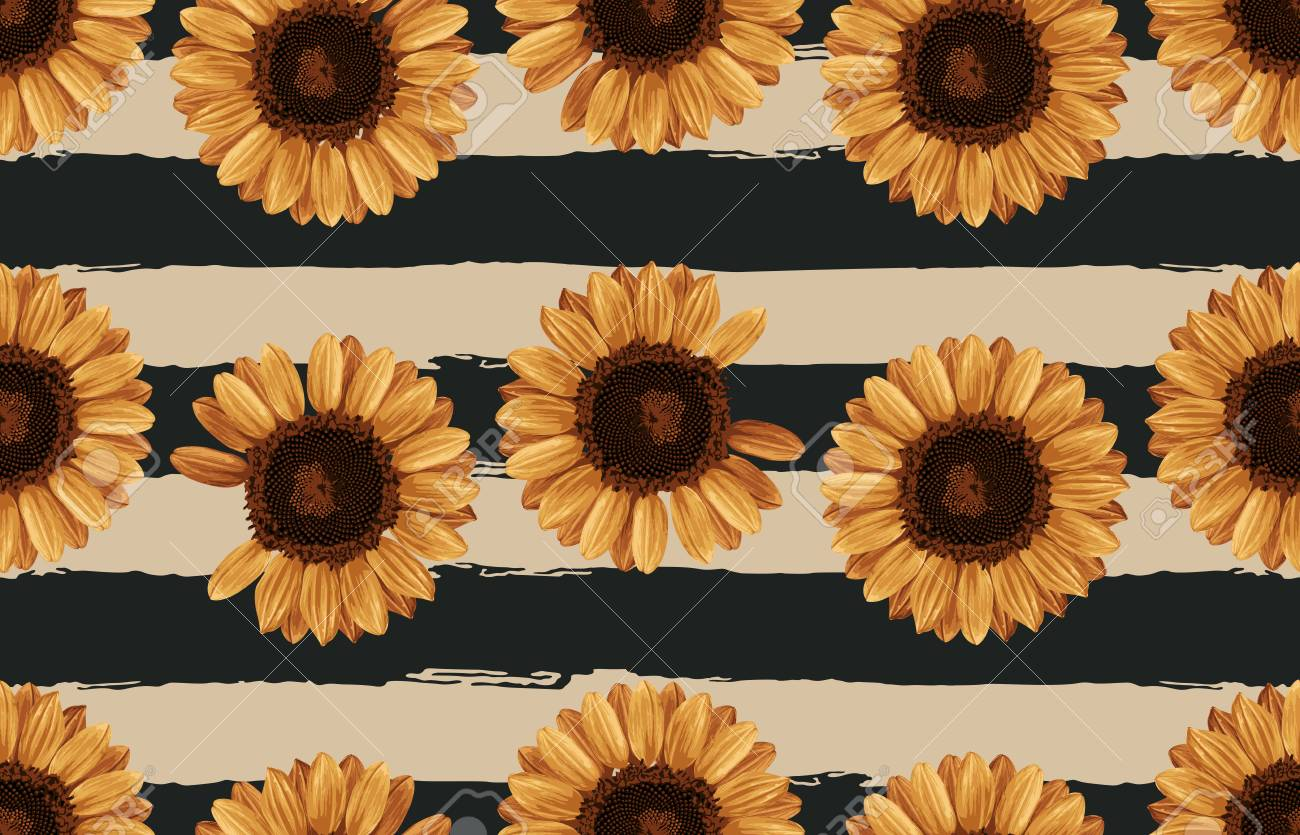 photograph about Sunflower Printable known as Inventory Example