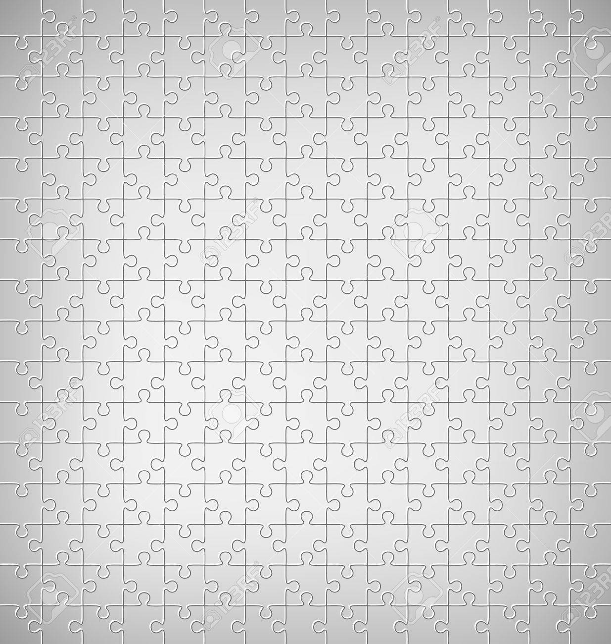 Background image grayscale - Jigsaw Puzzle Pattern On Grayscale Background Stock Vector 42529413