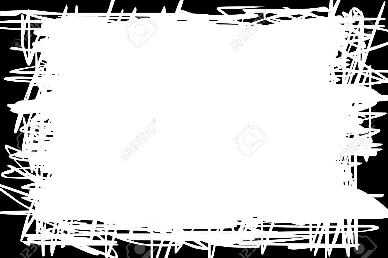 stock photo white background with black border