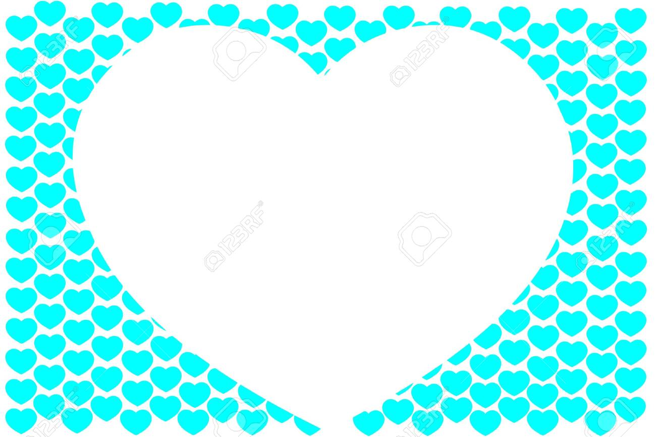 Background from hearts Stock Photo - 17314863