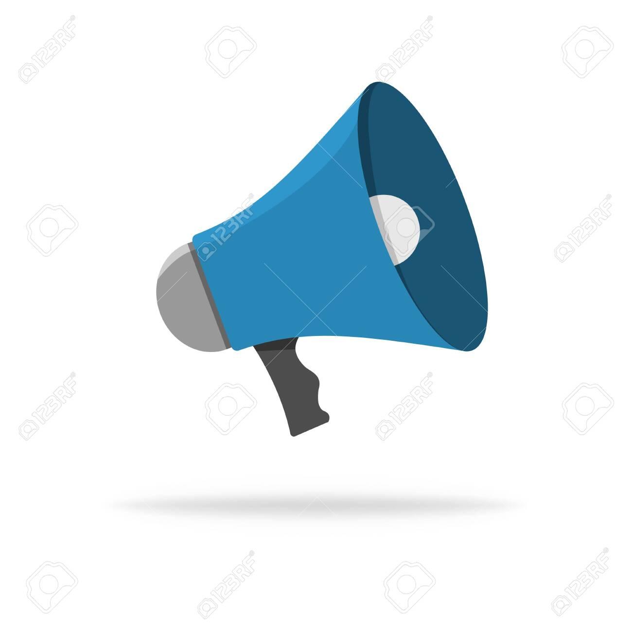 speaker vector icon loudspeaker or megaphone illustration sound royalty free cliparts vectors and stock illustration image 146795573 speaker vector icon loudspeaker or megaphone illustration sound