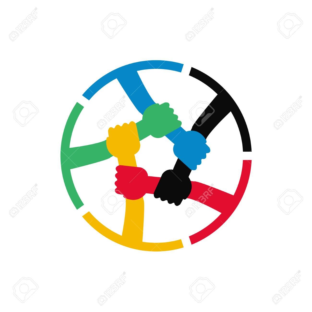 Teamwork Vector Icon - 110213111