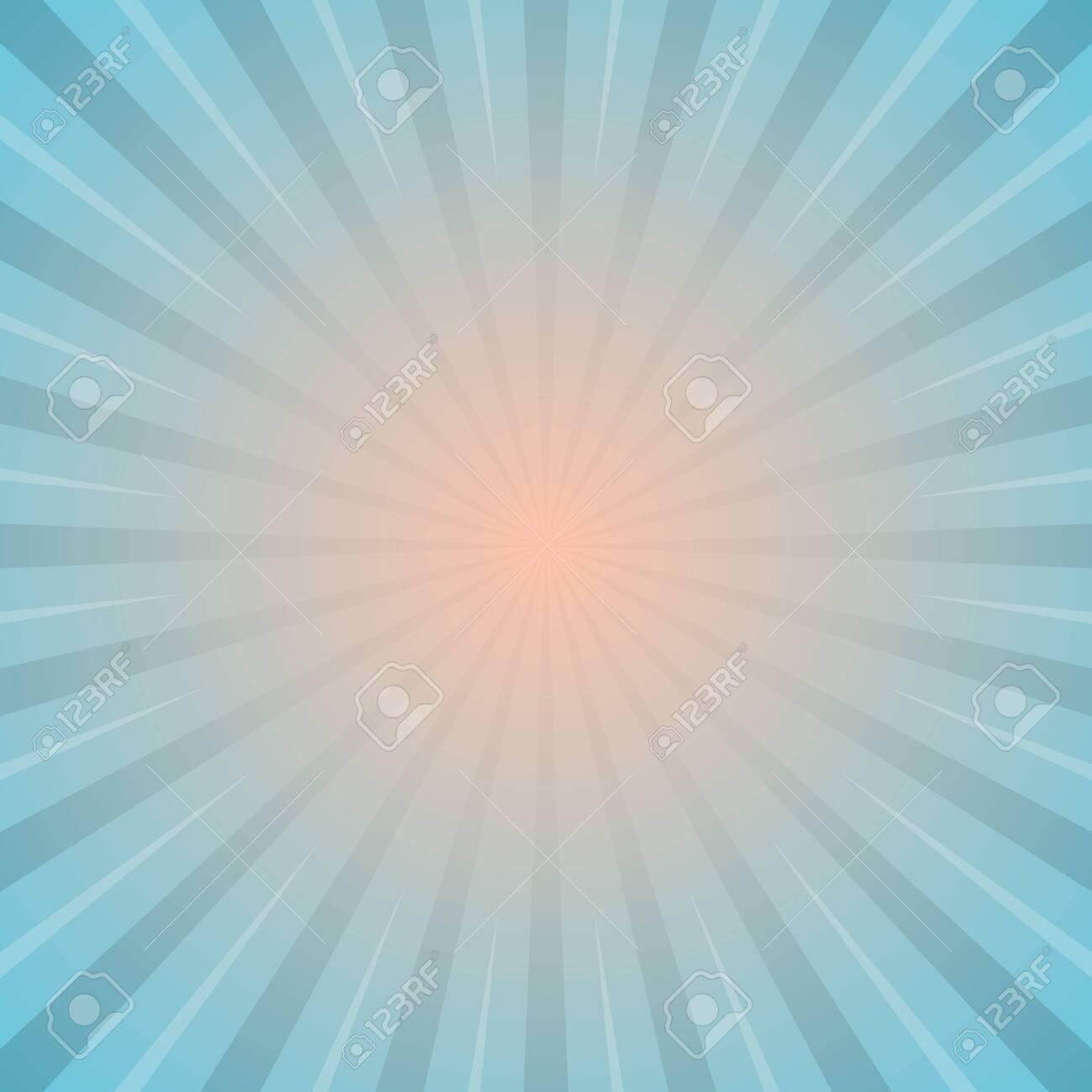 sun with rays star burst television vintage background stock vector illustration - 148238048