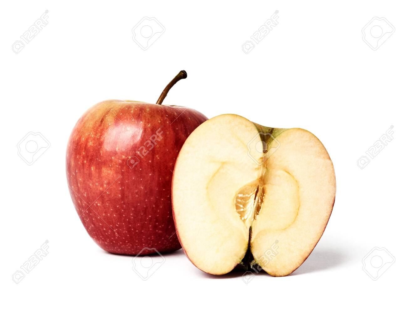 fresh apple isolated on white background - 145909158