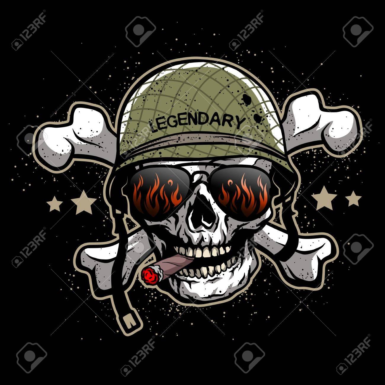 28+ Skull Army