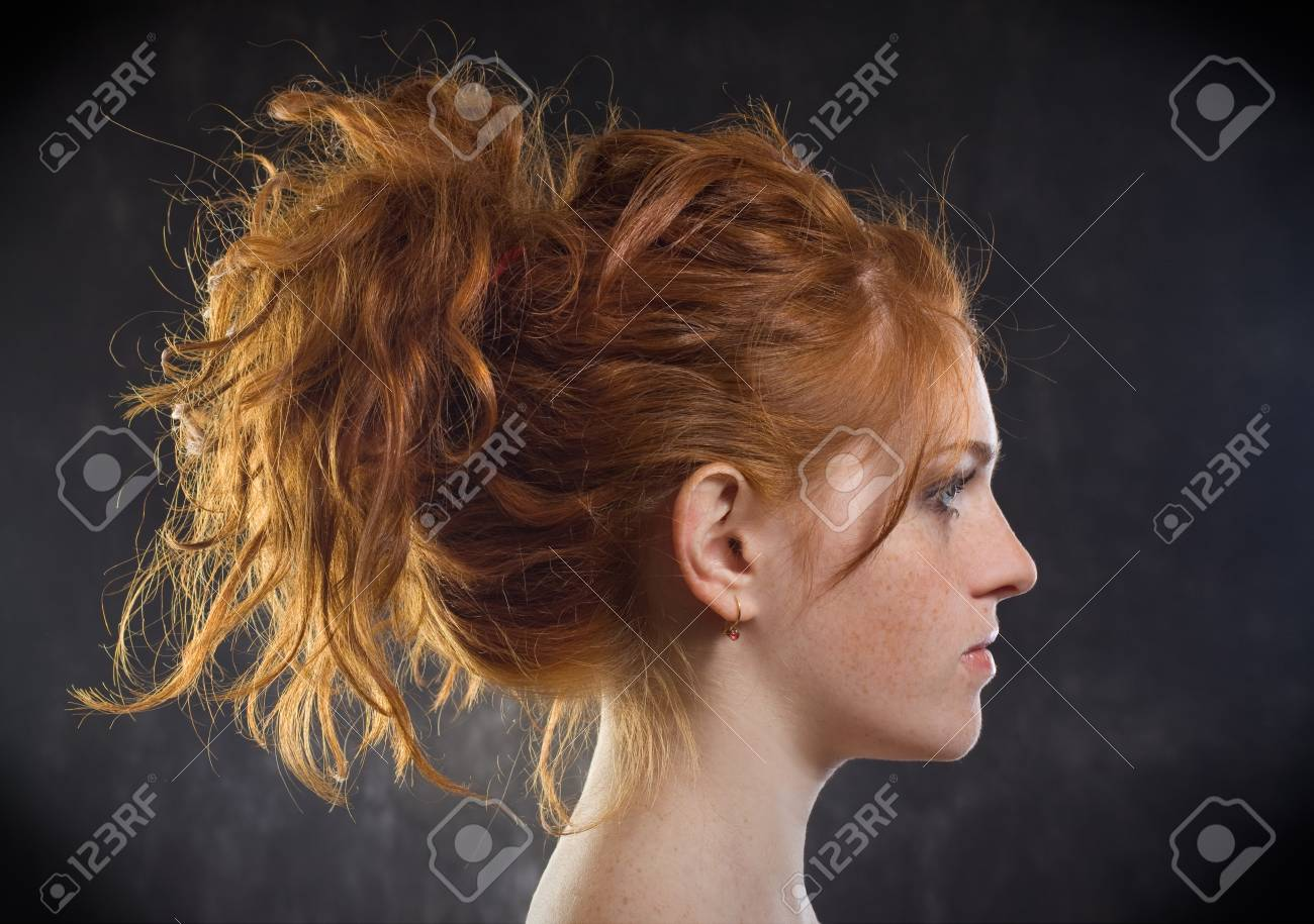 Close-up portrait of sexy caucasian young woman Stock Photo - 8736896