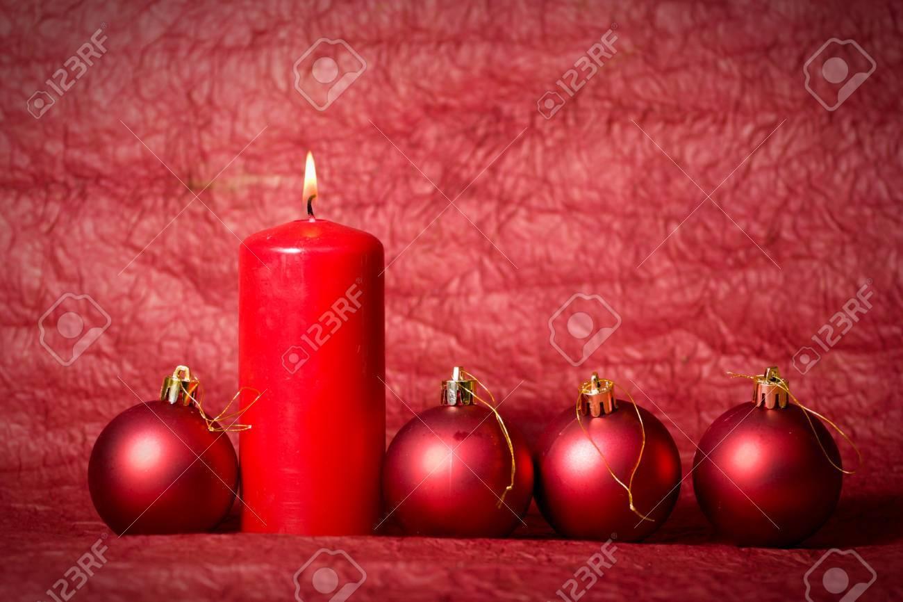 Christmas Candle Stock Photo - 8725614