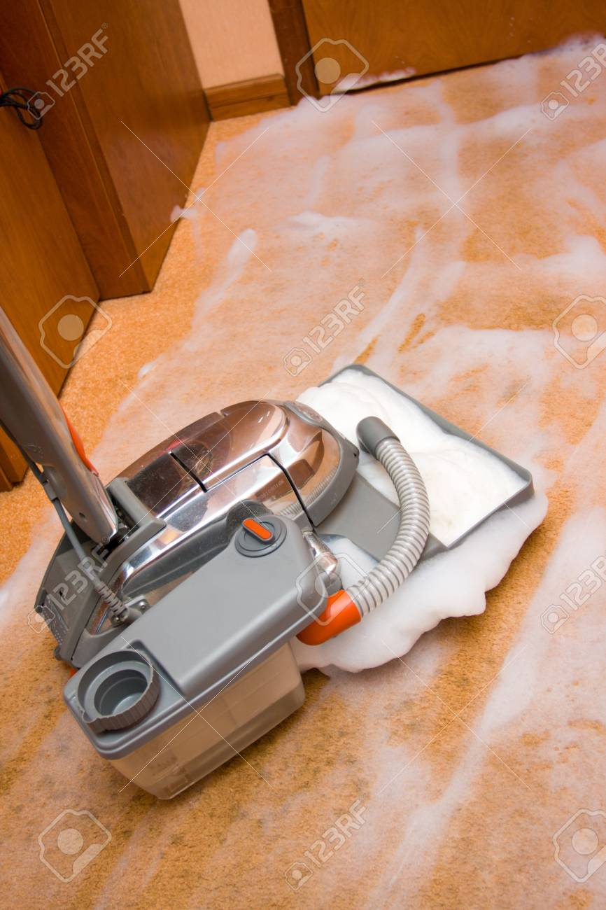 Vacuum cleaner in action - 8727376