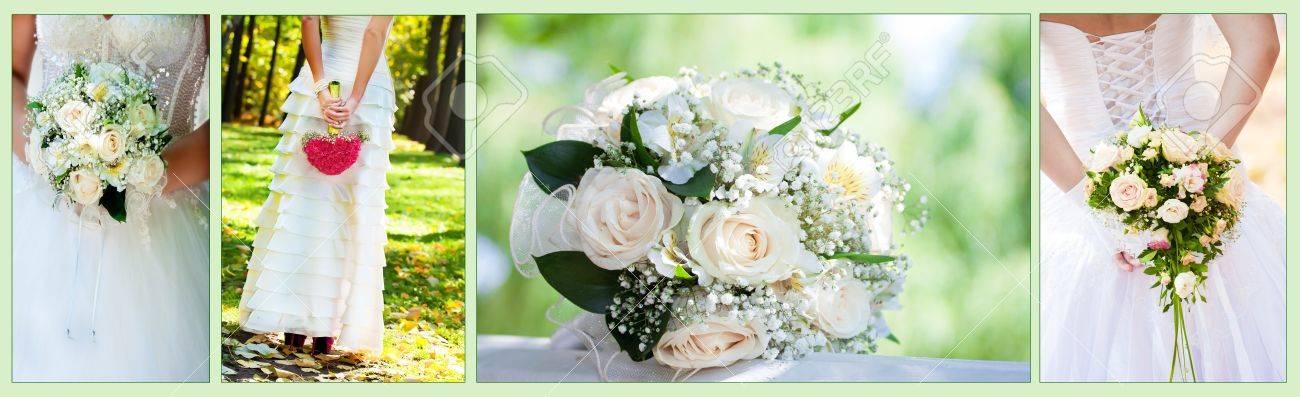 Collage wedding Bouquet - 13063350