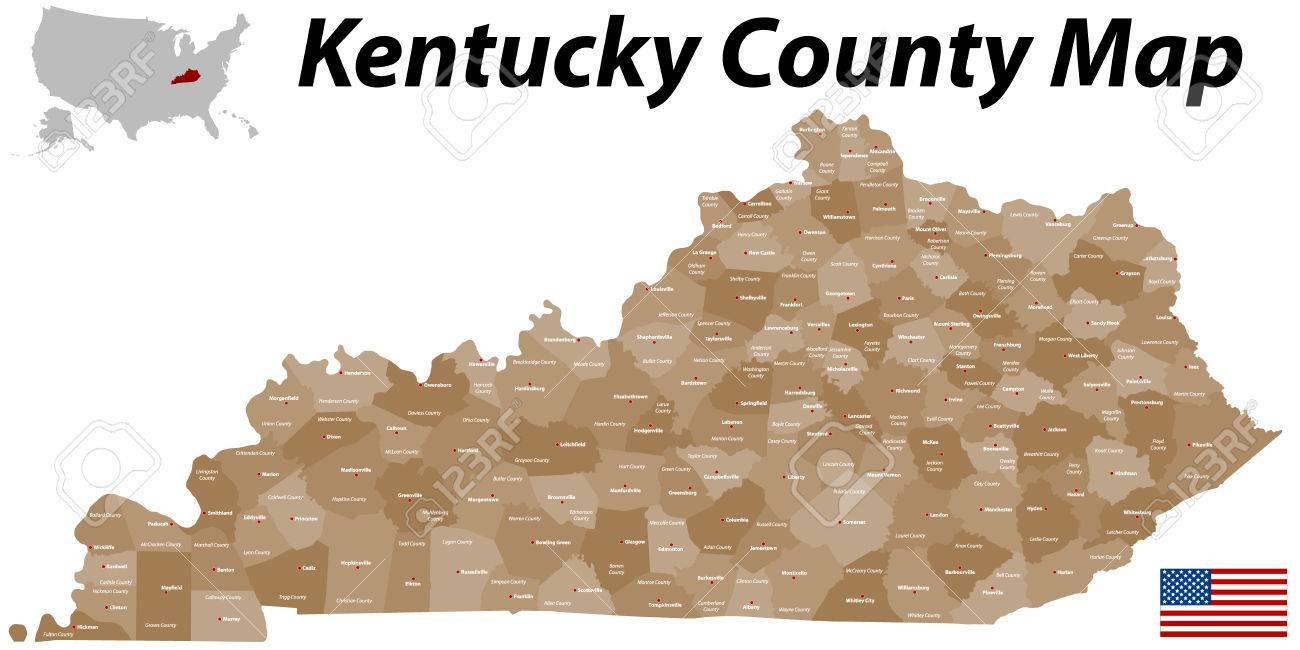 Reference Map Of Kentucky Usa Nations Online Project State And Us Map Kentucky State