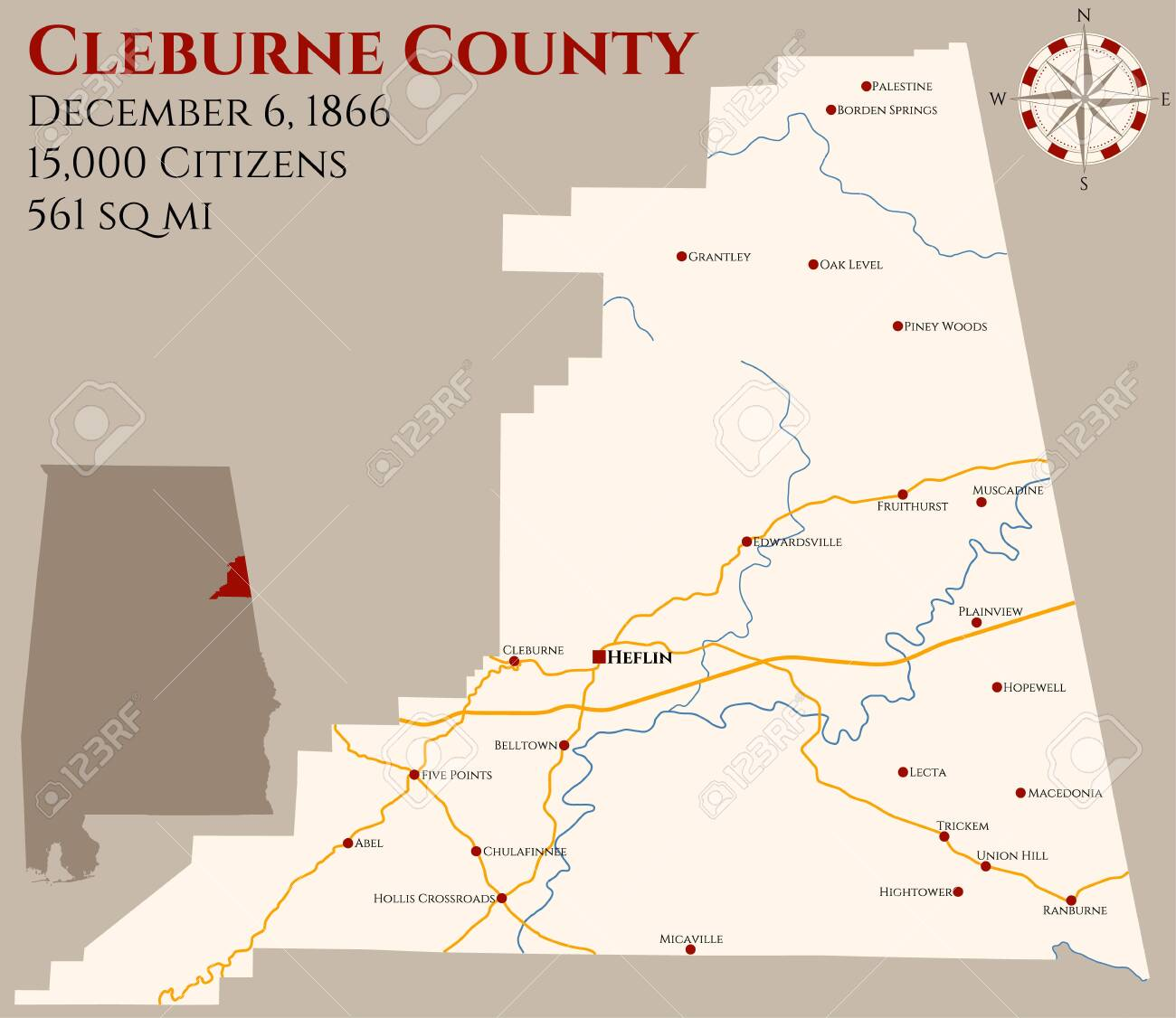 Large and detailed map of Cleburne County in Alabama, USA on map of nevada usa, map of georgia usa, map of st. vincent and the grenadines, map of america usa, map of san antonio usa, map of northeastern usa, map of northwestern usa, map of midwest states usa, map of southern usa, map of the south usa, map of carolinas usa, map delaware usa, map arkansas usa, map of washington dc usa, map of richmond usa, map of mexico usa, map of southeast usa, map of boston usa, colorado map usa, map of pacific northwest usa,