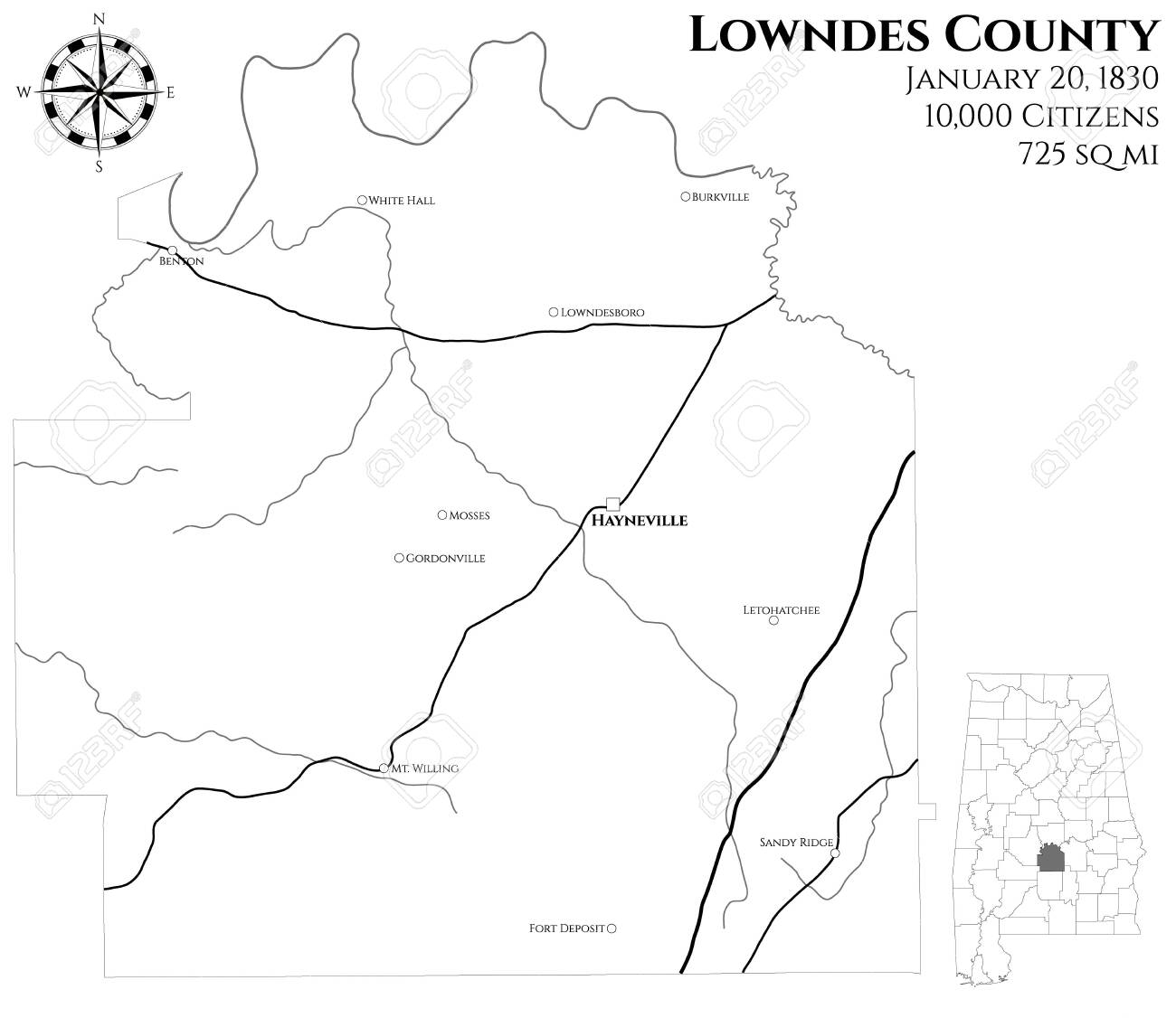 Large and detailed map of Lowndes County in Alabama, USA on map of oxford alabama, map of troy university alabama, map of alabama and georgia, fort deposit alabama, lowndes county schools alabama, map of georgiana alabama, map of cobb county georgia, map of wetumpka alabama, map of louisiana alabama, map of carroll county mississippi, map of mobile alabama, cities in calhoun county alabama, map of alabama river alabama, cities in russell county alabama, lowndes middle school alabama, map of lowndes county mississippi, map of eclectic alabama, map of hayneville alabama, cities in lowndes county alabama, plantations in lowndes county alabama,